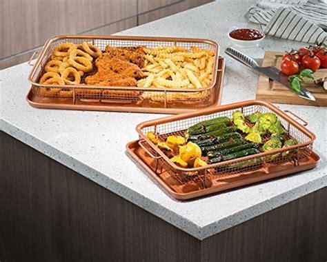 gotham steel crispy tray copper healthy food recipes