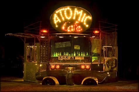 bar atomic cafe wasteland end apocalyptic weekend toast lit backyard history wastelandweekend