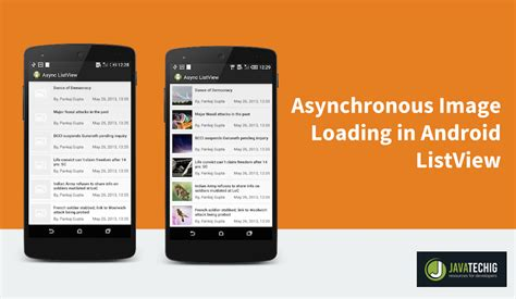 android listview tutorial loading image asynchronously in android listview stacktips