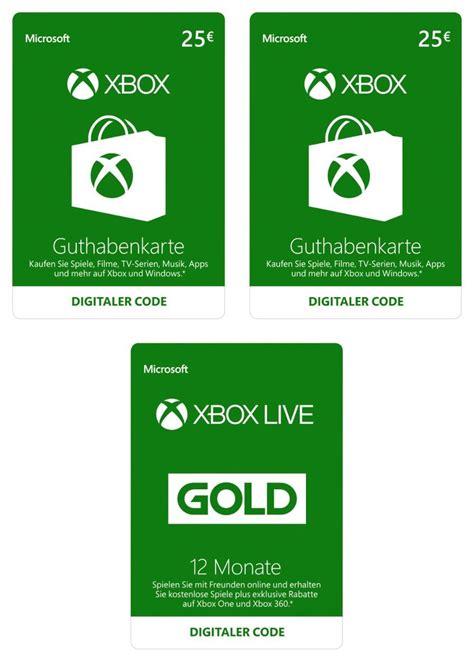 Xbox Live Gold Karte Kaufen
