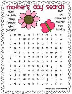 #MothersDay word search #worksheet | Printables ...