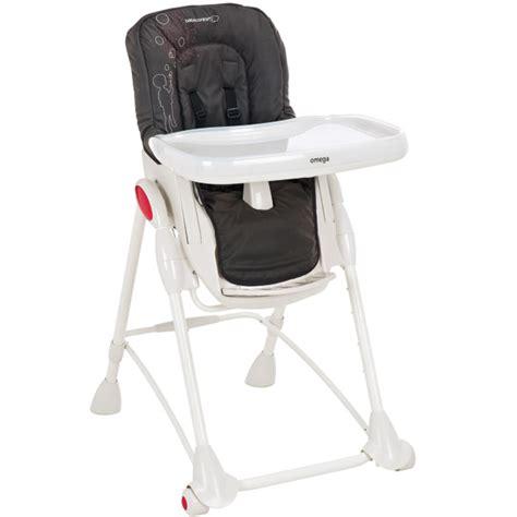 chaise haute omega bébé confort housse chaise haute omega bébé confort poetic black le