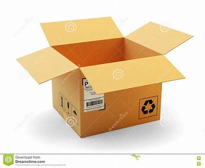 Package Open Packaging Icon Delivery Transportation Concept