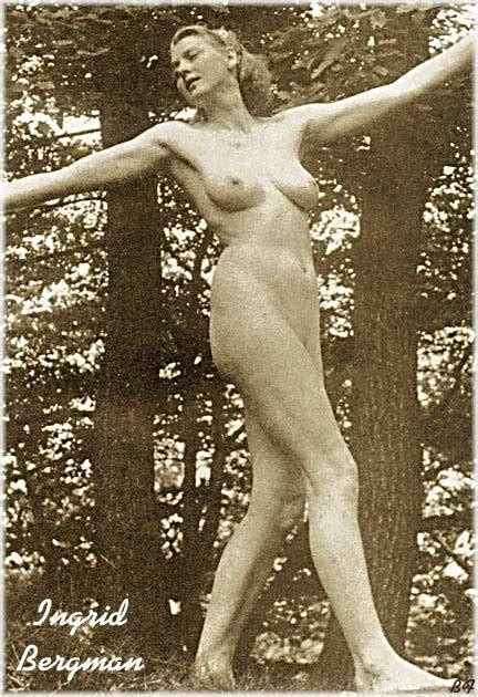 Naked Ingrid Bergman Added 11022016 By Swedishfilmlover