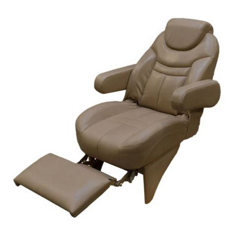 misty harbor reclining pontoon boat captains chair w