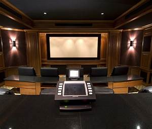 Interior futuristic audio video home movie theater rooms for Best furniture for home theater