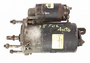 Starter Motor 74-84 Vw Dasher Audi Fox 4000 - Genuine