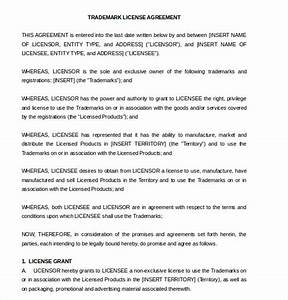 license agreement template 10 free word pdf document With photo license agreement template