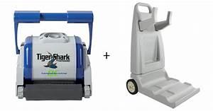 Tiger Shark Quick Clean : tiger shark quick clean avec brosses mousses chariot ~ Dailycaller-alerts.com Idées de Décoration