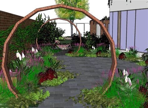 garden design plans sketchup pdf