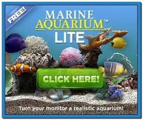 marine aquarium lite screensaver