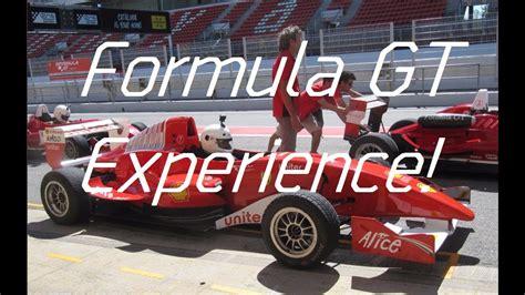 Gt Experience by Formula Gt Experience Cumpliendo Un Sue 241 O