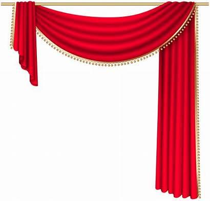 Curtain Transparent Clip Clipart Curtains Yopriceville Elements