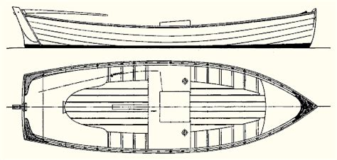 Jersey Skiff Boat Plans by Atkin Co Victor Slocum