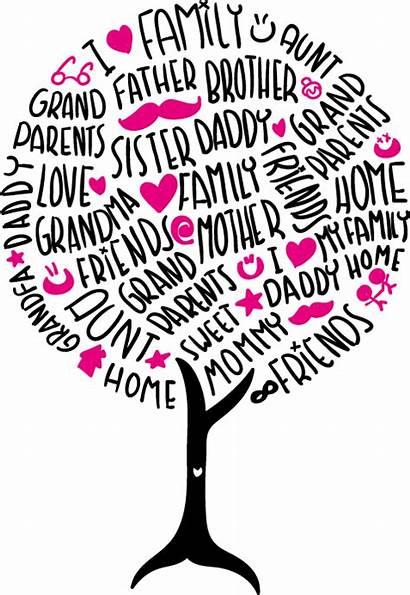 Tree Reunion Template Clipart Flyer Invitation Wordart