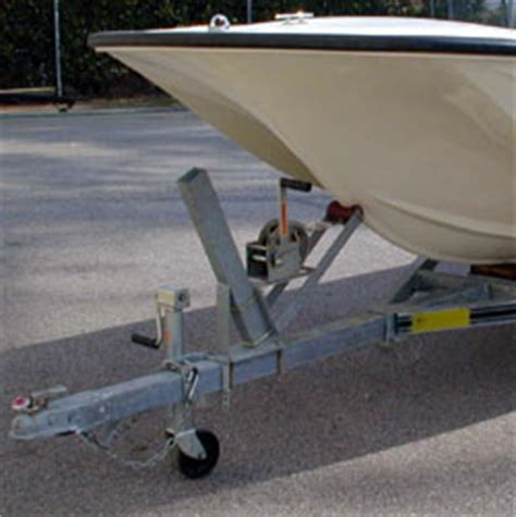 Jon Boat Trailer Winch Mount by How To Unload And Load Your Pontoon Boat On The Boat