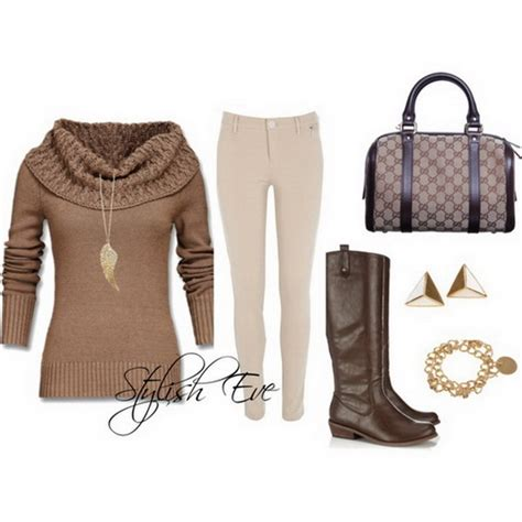 Winter 2013 Outfits for Women by Stylish Eve | Stylish Eve