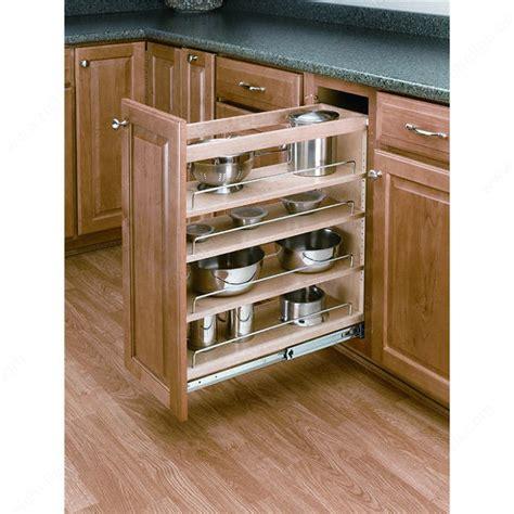 richelieu kitchen accessories pull out organizer for base cabinet richelieu hardware 1965