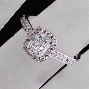 Black and pink diamond engagement ring hd engagement rings for Pink diamond wedding rings