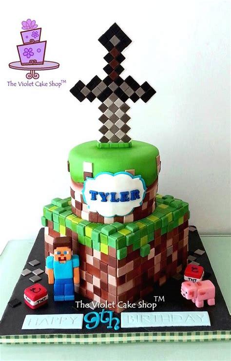 minecraft birthday cake decorations constructing minecraft cake designs and block ideas