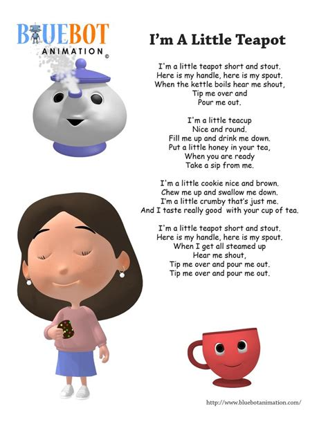 Row Row Your Boat Nursery Rhymes With Lyrics by 22 Best Bluebot Animation Lyrics Images On