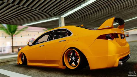 Acura Free Link by Acura Tsx Hellaflush 2010 For Gta San Andreas