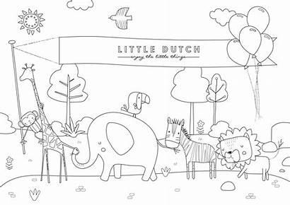 Dutch Kleurplaten Kleurplaat Beestenboel Welkom Terug Littledutch