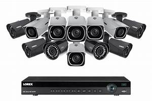 4k Ultra Hd Ip Nvr System With 16 Outdoor 4k 8mp Ip