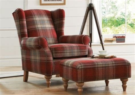 sherlock chair 163 450 and footstool 163 199 seen in stirling