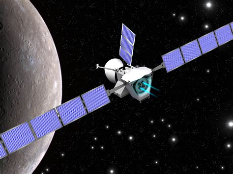 thales alenia space  build bepicolombo components