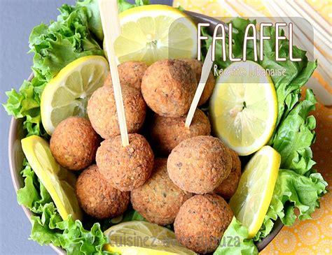 recettes cuisine libanaise falafels libanaises aux pois chiches recettes faciles