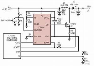 Ltc3803  Ltc4441 6v 2a Boost Converter Circuit Collection