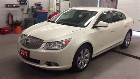 Buick Lacrosse 2011 by 2011 Buick Lacrosse 4dr Sdn Cxl Fwd White Tricoat