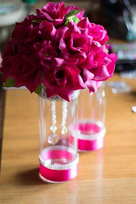 Decorating Ideas For Quinceaneras by Wine Glass Decorating Ideas For Quinceaneras Go Back