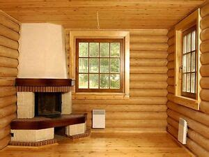 LOG CABIN HOME shell kit logs 1266 sq ft 36' x 24' with