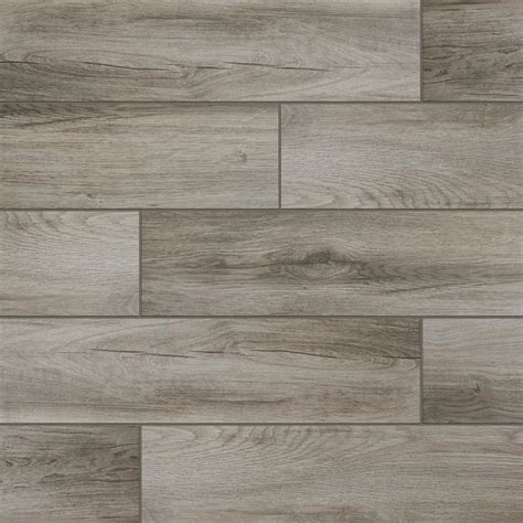 Wood Wall Tiles by Lifeproof Shadow Wood 6 In X 24 In Porcelain Floor And