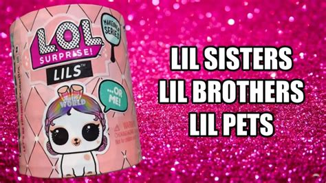 makeover series  lils lil sisters lil brothers lil