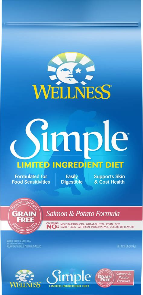 The Wellness by Wellness Simple Limited Ingredient Diet Grain Free Salmon
