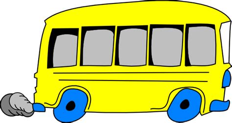 yellow school bus cartoon   clip art  clip art  clipart library