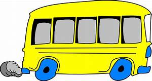 Yellow School Bus Clip Art at Clker.com - vector clip art ...