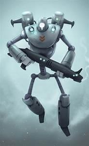 Robot Cartoon Character #character #robot | 2D/3D art ...