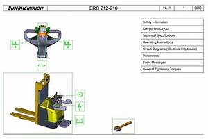 Original Illustrated Factory Workshop Service Manual For Jeti Electric Pedestrian Stacker Type
