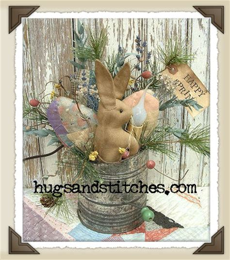 Primitive Easter Home Decor by Country And Primitive Easter And Home Decor Items