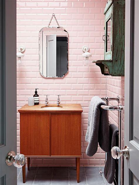 reasons to retro pink tiled bathrooms hgtv s
