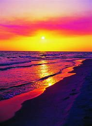 Panama City Beach Florida Sunset