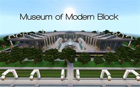 museum of modern block minecraft project