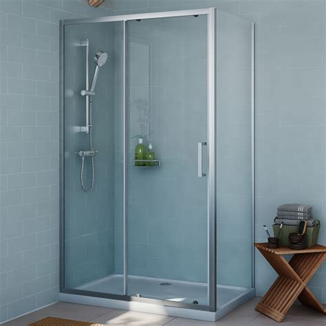 Cooke & Lewis Exuberance Rectangular Shower enclosure with