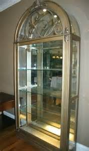 250 glass lighted curio cabinet for sale in collierville