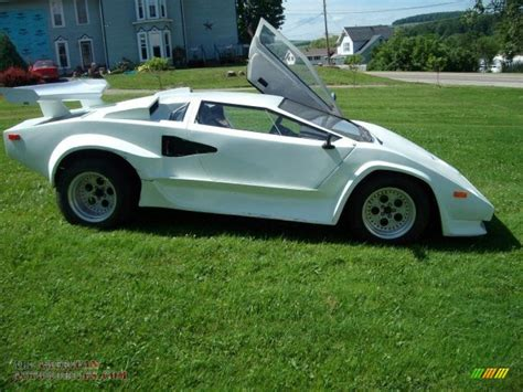 Fiero Kit by 1985 Pontiac Fiero Lamborghini Kit Car In White 245308