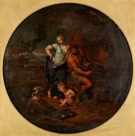 Œuvre Vénus Et Vulcain  Mignard Le Romain (pierre